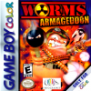 Worms Armageddon Nintendo Game Boy Color cover artwork