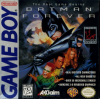 Batman Forever Nintendo Game Boy cover artwork