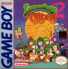 Lemmings 2 - The Tribes Nintendo Game Boy cover artwork