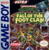 Teenage Mutant Ninja Turtles - Fall of the Foot Clan Nintendo Game Boy cover artwork