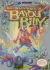 Adventures of Bayou Billy, The Nintendo NES cover artwork