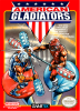 American Gladiators Nintendo NES cover artwork