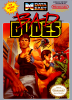 Bad Dudes Nintendo NES cover artwork