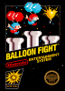 Balloon Fight Nintendo NES cover artwork