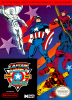 Captain America and the Avengers Nintendo NES cover artwork