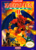 Gargoyle's Quest II Nintendo NES cover artwork