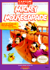 Mickey Mousecapade Nintendo NES cover artwork