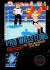 Pro Wrestling Nintendo NES cover artwork