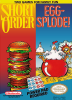 Short Order + Egg-Splode! Nintendo NES cover artwork