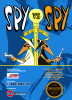 Spy vs Spy Nintendo NES cover artwork