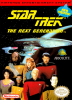 Star Trek - The Next Generation Nintendo NES cover artwork