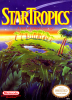 StarTropics Nintendo NES cover artwork
