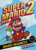 Super Mario Bros. 2 Nintendo NES cover artwork