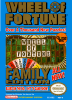 Wheel of Fortune - Family Edition Nintendo NES cover artwork