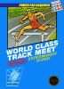 World Class Track Meet Nintendo NES cover artwork