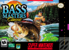 BASS Masters Classic Nintendo Super NES cover artwork