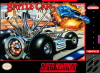 Battle Cars Nintendo Super NES cover artwork