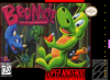 Bronkie the Bronchiasaurus Nintendo Super NES cover artwork