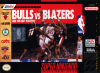 Bulls vs Blazers and the NBA Playoffs Nintendo Super NES cover artwork