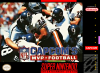 Capcom's MVP Football Nintendo Super NES cover artwork