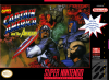 Captain America and the Avengers Nintendo Super NES cover artwork