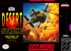 Desert Strike - Return to the Gulf Nintendo Super NES cover artwork
