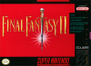 Final Fantasy II Nintendo Super NES cover artwork