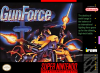 GunForce Nintendo Super NES cover artwork