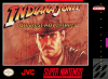 Indiana Jones' Greatest Adventures Nintendo Super NES cover artwork