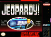 Jeopardy! Nintendo Super NES cover artwork