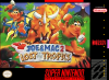 Joe & Mac 2 - Lost in the Tropics Nintendo Super NES cover artwork