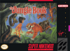 Jungle Book, The Nintendo Super NES cover artwork