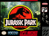 Jurassic Park Nintendo Super NES cover artwork