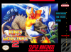 King of the Monsters 2 Nintendo Super NES cover artwork