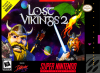 Lost Vikings 2, The Nintendo Super NES cover artwork