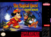 Magical Quest Starring Mickey Mouse, The Nintendo Super NES cover artwork