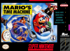 Mario's Time Machine Nintendo Super NES cover artwork