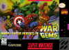 Marvel Super Heroes - War of the Gems Nintendo Super NES cover artwork