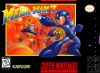 Mega Man 7 Nintendo Super NES cover artwork