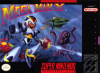 Mega Man X Nintendo Super NES cover artwork