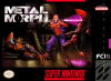 Metal Morph Nintendo Super NES cover artwork
