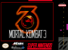 Mortal Kombat 3 Nintendo Super NES cover artwork