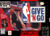 NBA Give 'n Go Nintendo Super NES cover artwork