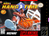 NBA Hang Time Nintendo Super NES cover artwork