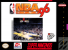 NBA Live' 96 Nintendo Super NES cover artwork