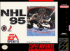 NHL '95 Nintendo Super NES cover artwork