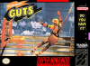 Nickelodeon GUTS Nintendo Super NES cover artwork