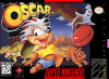Oscar Nintendo Super NES cover artwork
