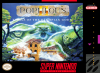 Populous II - Trials of the Olympian Gods Nintendo Super NES cover artwork