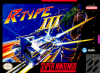 R-Type III - The Third Lightning Nintendo Super NES cover artwork